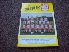 Northampton Town v Tranmere Rovers, 1986/87